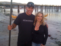Mavericks Surf Competition founder & California Living® TV host Aprilanne Hurley get in a SUP workout on ION Television.