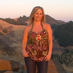 California Living series creator and host Aprilanne Hurley on location in the Paso Robles Wine County