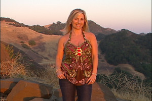 California Living® series creator and host Aprilanne Hurley on location in Paso Robles Wine County.