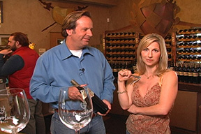John Conover, General Manager of PlumpJack Winery with Aprilanne Hurley, host of California Living®