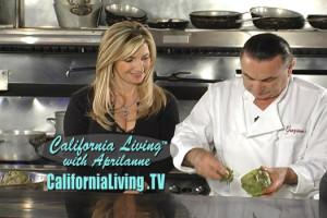 California Living creator & host Aprilanne Hurley with Chef Graziano Perozzi