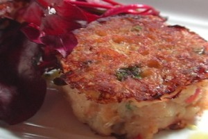 California Living® host Aprilanne Hurley dishes Napa Valley Crab Cakes on ION Television.