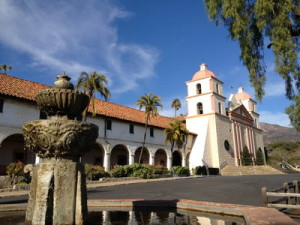 California Living host Aprilanne Hurley shines the spotlight on Mission Santa Barbara