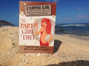 Party Girl Diet makes her mark on Hawaii's Forbidden Island of Niihau.