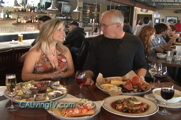 California Living® Host Aprilanne Hurley Checks Out The Award Winning  Waterfront Dining At Samu0027s Chowder