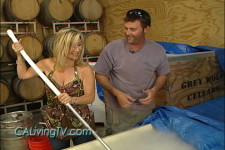 California Living® host Aprilanne Hurley checks out wine making and The California Life in Paso Robles, California.