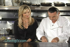 California Living host Aprilanne Hurley makes Stuffed Artichokes with Executive Chef Graziano