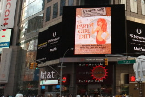 Keep the party going...while you lose the weight with Aprilanne Hurley's Party Girl Diet book available on Amazon.com.