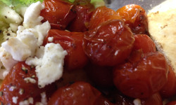 California Living ® dishes sneak peek at Aloha Diet Roasted Balsamic Cherry Tomatoes.
