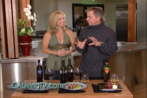 California Living® host Aprilanne Hurley reviews holiday food & wine pairing tips with event visionary Marc Blackwell.