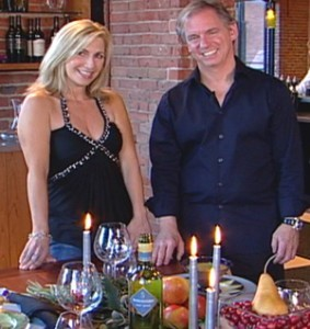 California Living® host Aprilanne Hurley & entertainment expert Marc Blackwell have you holiday table-tops covered this season.
