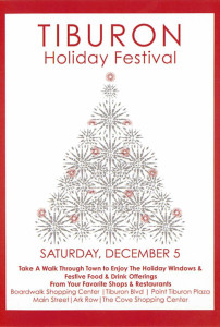 California Living ® host Aprilanne Hurley invites you to experience the magic waiting for you during the Tiburon Holiday Festival.