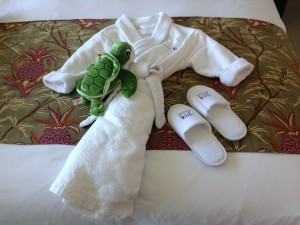 "It's ""little things"" like child-sized plush robes and slippers that makes Trump Waikiki an ideal destination of luxury family travel in Hawaii."
