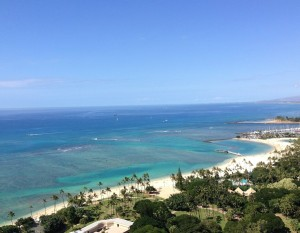 """California Living ® host Aprilanne Hurley invites you to """"Live the Suite Life"""" at Trump Waikiki Beach Walk®."""