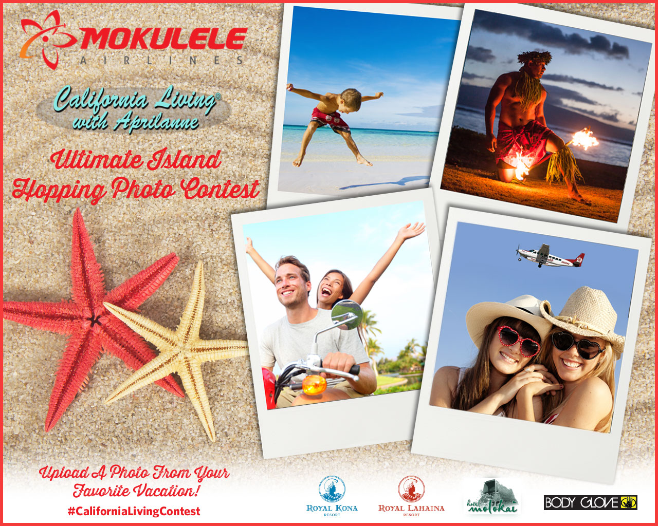 California Living® & Mokulele Airlines invite you to enter to win the Ultimate Island Hopping Experience this season.