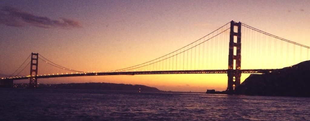 """Getaway without going away"" with Angel Island Ferry Sunset Cruises."