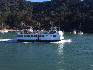 Angel Island Ferry in California Living ® spotlight