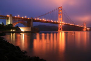 Discover the awesome California Living ® in your own backyard at Fort Point, San Francisco.