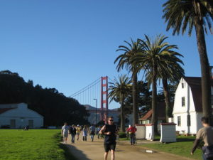 California Living@ spotlights the walking paths along Crissy Field for outdoor fun and great views.