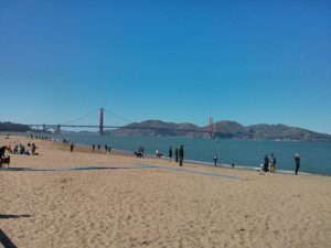 California Living host Aprilanne Hurley spotlights Crissy Field and Fort Point as a budget friendly travel destination.