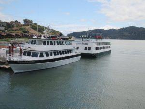 Angel Island Ferry's luxury vessel the Tamalpais