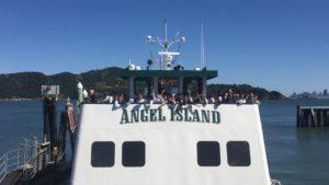 Angel Island Ferry in California Living ® TV Spotlight